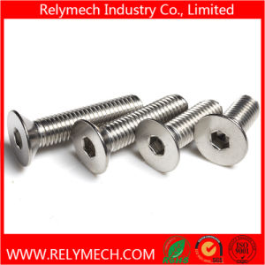 Stainless Steel Countersunk Hex Socket Bolt M2-M20 pictures & photos