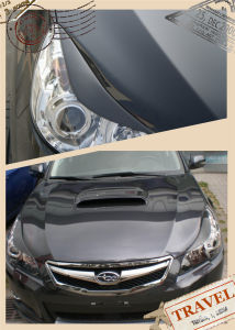 Carbon Fiber Headlamp Eyebrow for Subaru Legacy 09-10th pictures & photos