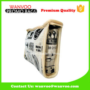 Canvas Logo Cosmetic Bag for Lady China Manufacturers pictures & photos
