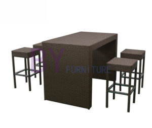 Modern Rattan Bar Furniture Set with SGS Certification pictures & photos