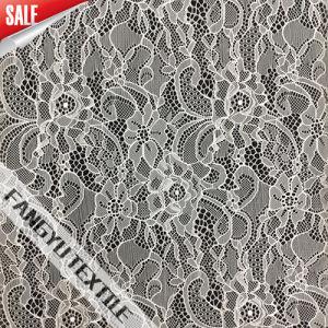 Fashion Nylon Eastic Lace Fabric for Dress