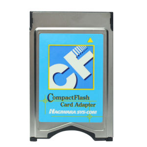 Hagiwara Type I CF Memory Card Into PCMCIA Adaptor Compactflash Card Adapter pictures & photos