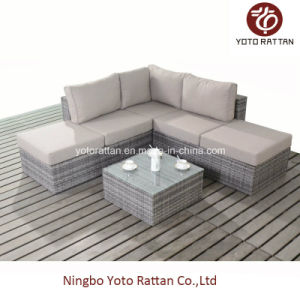 Outdoor Rattan Small Sofa Set (1401) pictures & photos