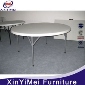Outdoor White Wedding Plastic Folding Table for Sale pictures & photos