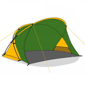 Folding Fish Tent / Outdoor Beach Tent and Bivvy Tent