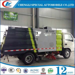 Good Performance 4X2 Road Sweeper Truck with Washing Function pictures & photos