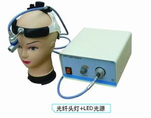 Surgical Dental Inspection Top Brightness LED Light Fiber Optic Headlight pictures & photos