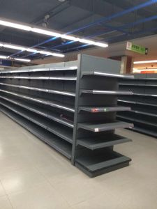 Cold Rolled Steel Gondola Supermarket Display Rack pictures & photos