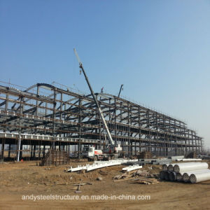 Multistory Galvanized Lightweight Prefab Steel Frame Factory pictures & photos