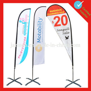 Hot Sale Flying Teardrop Flag with Pole pictures & photos