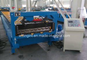Cheap China Corrugated Coated Roll Forming Machine pictures & photos