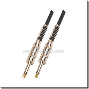 Outer Diameter 6.0mm Connector Guitar Cable (AL-G012) pictures & photos