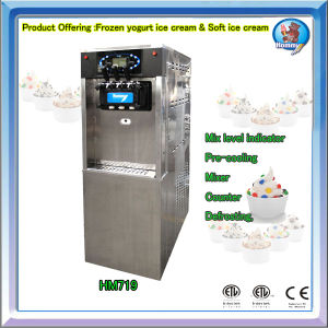 Frozen Yogurt machine HM719 with CE ETL Certificate pictures & photos