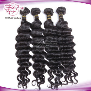 Best Human Hair Deep Curly Brazilian Hair Weave pictures & photos