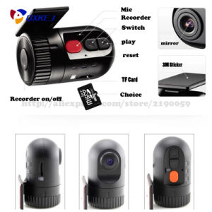 1080P Full HD 1920*1080 High-End No Screen Car Hidden DVR Sensor 120 Degree 6p Lens External Phone pictures & photos