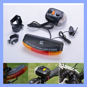 7 LED Electric Horn Bicycle Brake Tail Light pictures & photos