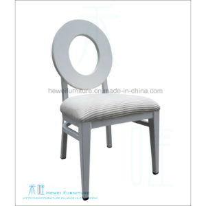 Ring Back Metal Banquet Dining Chair for Restaurant (HW-YF011C)