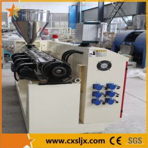 Conical Twin Screw Compounding Plastic Extruder pictures & photos