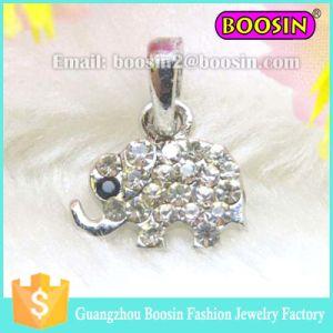Little Rhinestone Elephant Pendant Jewelry #13672 pictures & photos
