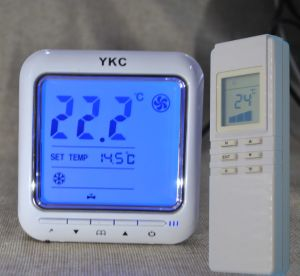 Timer off Infrared Remote Cool Heat Thermostat with Control 2-3 Line Valves