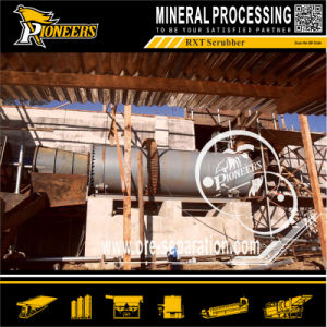 Alluvial Gold Washing Plant Clay Mining Gearwheel Rxt Rotary Scrubber pictures & photos