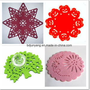 Wholesale Handmaking Hollow Felt Coasters pictures & photos