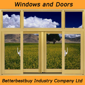 Powder Coated Aluminum Window with Excellent Quality pictures & photos