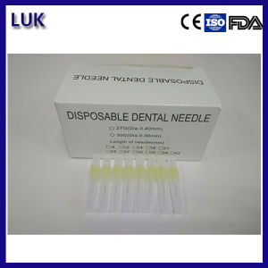 High Quality 25g, 27g, 30g Disposable Dental Needles for Dental Anesthesia pictures & photos