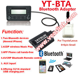 Clear Voice and High Quality Bluetooth USB Adapter for Car Stereo in Yatour BTA pictures & photos