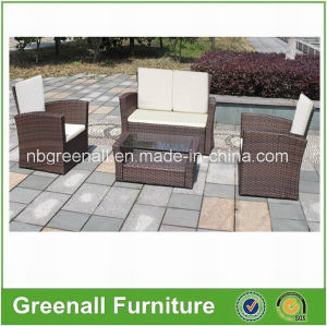 Simple Design Wicker Sofa Set/Outdoor Leisure Sofa Set pictures & photos