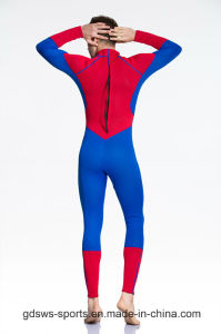Dongguan Factory Full Length Spider-Man Wetsuit with Nylon Fabric pictures & photos