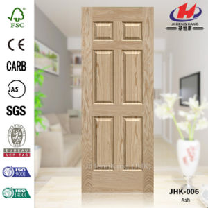 Red Oak Veneer HDF Door Skin (JHK-006) pictures & photos