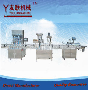 Automatic Bottling Filling Machine in Line pictures & photos