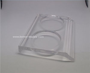 Wholesale Clear Acrylic Drink Coasters pictures & photos