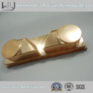 Non-Standard High Precision CNC Machining Copper Part / CNC Machine Part Electrode Component Custom Made