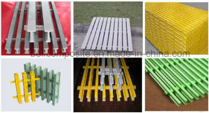 Pultruded Grating, Pultruded Fibreglass Grating & Pultruded GRP Grating pictures & photos