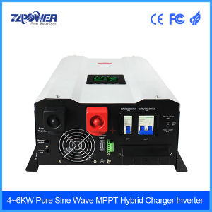 4-10kw Power Inverter Solar Inverter Hybrid MPPT Inverter Pure Sine Wave Inverter pictures & photos