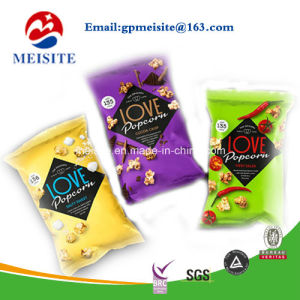 Top Zip Plastic Food Packaging Bag Stand up Pouch for Snack Food Packaging Bag pictures & photos