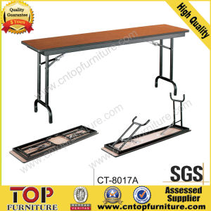 Hotel Removable Plywood Banquet Folding Table pictures & photos