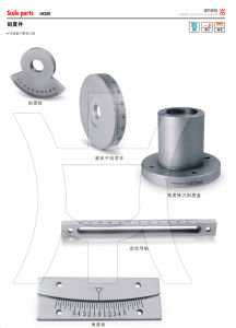 Stainless Steel Scale Parts Scale