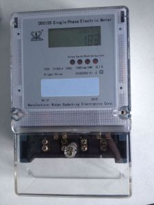 Smart Anti-Tamper Double Circuit Single Phase Energy Meter for Bangladesh Market with CT pictures & photos