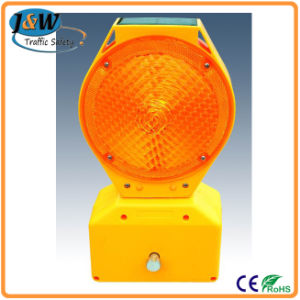 High Brightness Plastic Solar Warning Light / Flashing Traffic Light pictures & photos