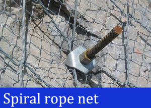 Rock Stabilization Spiral Rope Net pictures & photos