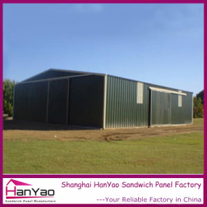 Flat Pack Steel Structure Prefabricated House for Factory Building pictures & photos