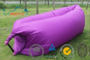 Ultralight Portable Inflatable Colorful Lazy Person Sleeping Bag pictures & photos
