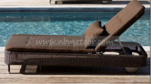 Mtc-224 Plastic Wicker Outdoor Rattan Furniture Swimming Pool Lounge Reclinable pictures & photos
