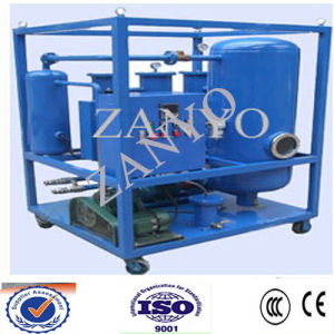 Auto High-Efficiency Vacuum  Lubricant Oil Purifier Machine pictures & photos