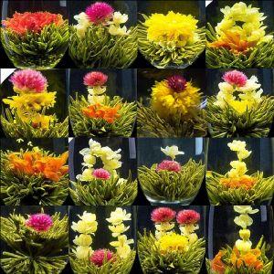Yun Nan Dian Cai Blooming Tea
