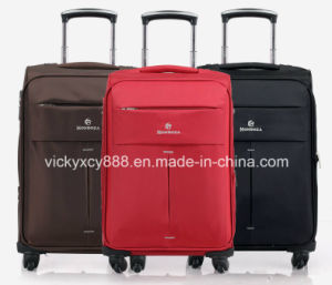 4 Wheels Waterproof Trolley Wheeled Luggage Suitcase Bag Case (CY3399) pictures & photos