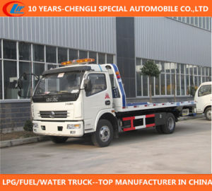 Dongfeng 6 Wheeler Flatbed Wrecker pictures & photos